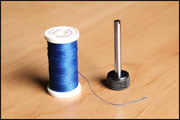 sewing machine spool pin