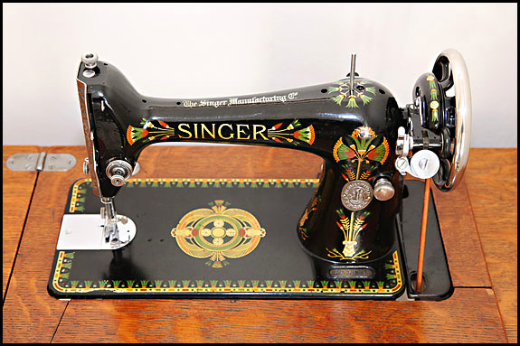How To Clean A Vintage Sewing Machine Some Thoughts On That Stunning Singer Electric Sewing Machine 66 18 Value