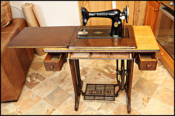 Sorry ... - Vintage Singer Treadle For Sale – Plus Losing Your Good Looks Due To
