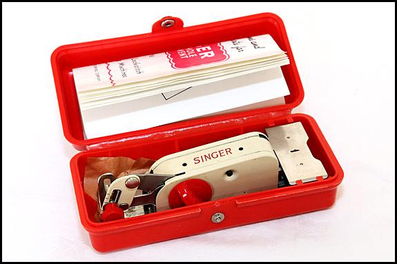 Picture of vintage Singer Buttonhole Attachment 86718