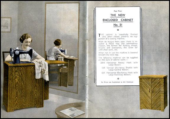 Singer Enclosed Cabinet no.51