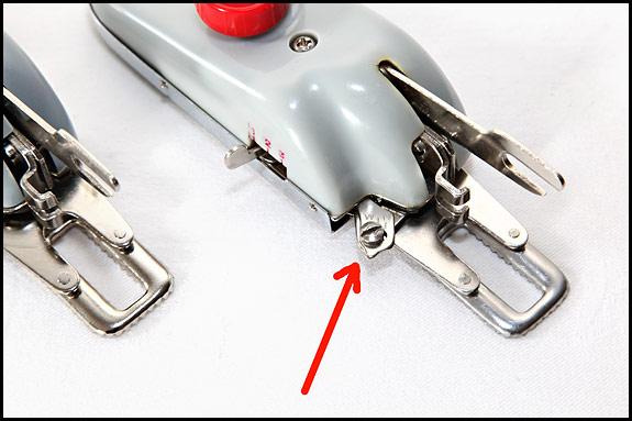 Detail shot of Vanguard Buttonholer