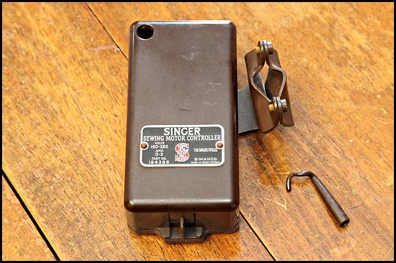 singer sewing motor controller 194386