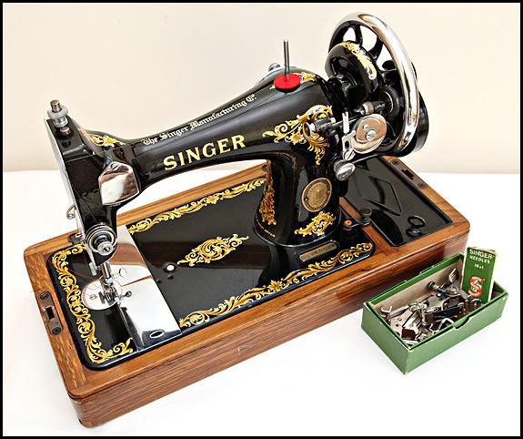 Singer 40 40 140 140 Oldsingersewingmachineblog Stunning 1950 Singer Sewing Machine For Sale