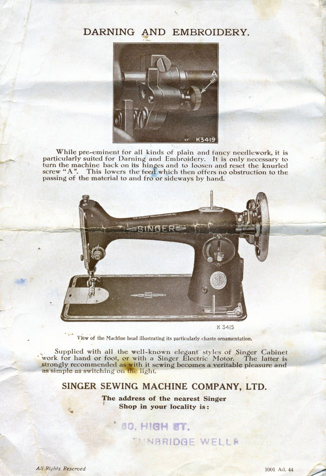 Oldsingersewingmachineblog A blog about our vintage Singer sewing Beauteous Singer Sewing Machine Attachments
