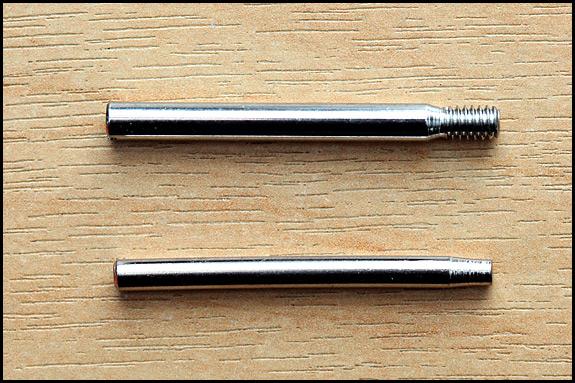vintage Singer spool pins